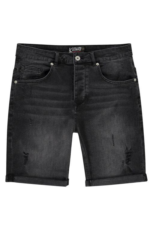 Kultivate Short 5 Pocket Damaged Black