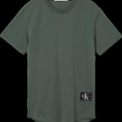 CALVIN KLEIN T-SHIRT MET EMBLEEM Duck Green