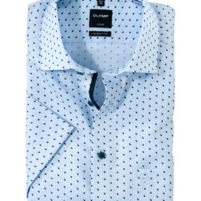 OLYMP Luxor Modern Fit, Zakelijke Overhemd, Global Kent, Groen