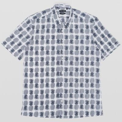 Antony Morato Overhemd Wit Ananas Print