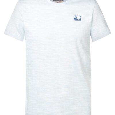Petrol Industries Gemêleerd T-shirt Skylight