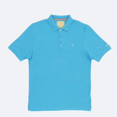 COLOURS & SONS BASIS POLO TURQUISE