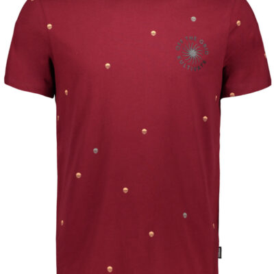 Kultivate Tee Off The Grid Pomegranate