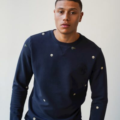Kultivate Sweater Off The Grid Darknavy